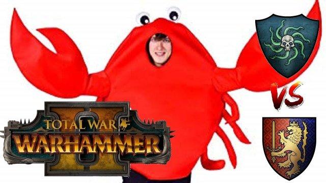 Vampire Coast vs Bretonnia | ALL THE BIG MONSTERS - Total War Warhammer 2