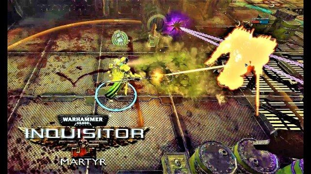 Warhammer 40k Inquisitor Martyr - DATA HUNT (21:9 Ultrawide 4K)