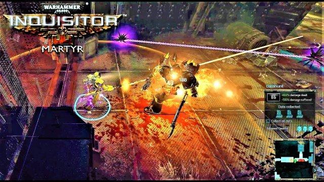 Warhammer 40k Inquisitor Martyr - DAEMONIC INCURSION (21:9 Ultrawide 4K)