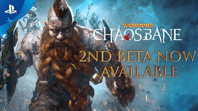 Warhammer: Chaosbane – 2nd Beta Launch Trailer | PS4