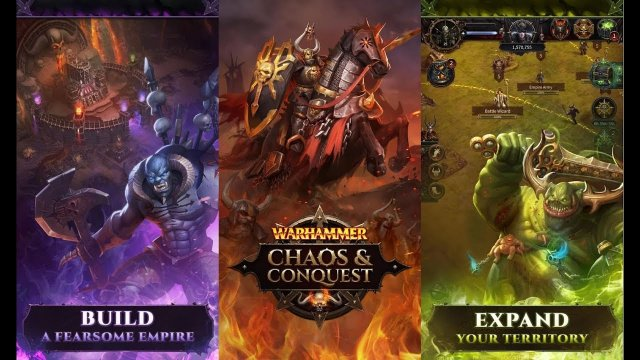 Warhammer : Chaos & Conquest - Build your Warband [ Android APK ] Gameplay