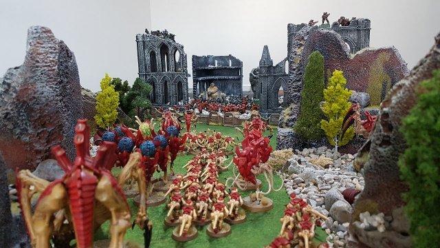 Astra Militarum vs Tyranids, 8th edition Warhammer 40k batrep