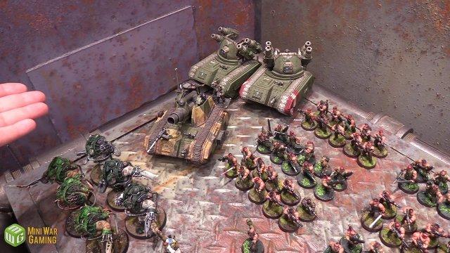 Astra Militarum vs Druhkari Warhammer 40k Battle Report - Just the Luka the Dice Ep 71
