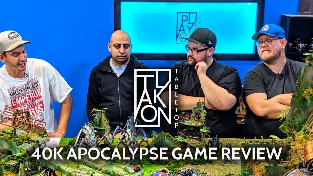 Warhammer 40k Apocalypse Review -  Post Battle Roundtable