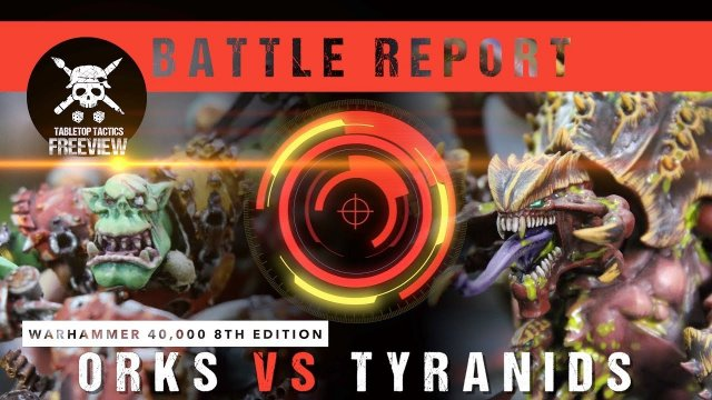 Warhammer 40,000 Battle Report: Orks vs Tyranids 2000pts