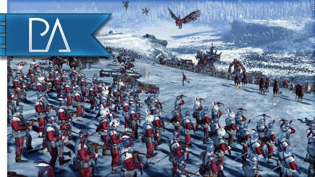 VALLEY OF DEATH - Total War: WARHAMMER gameplay