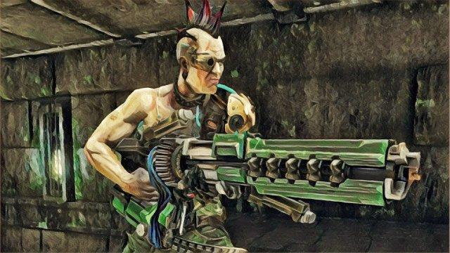 Quake Champions - full duel video between Zero4 and SyncError