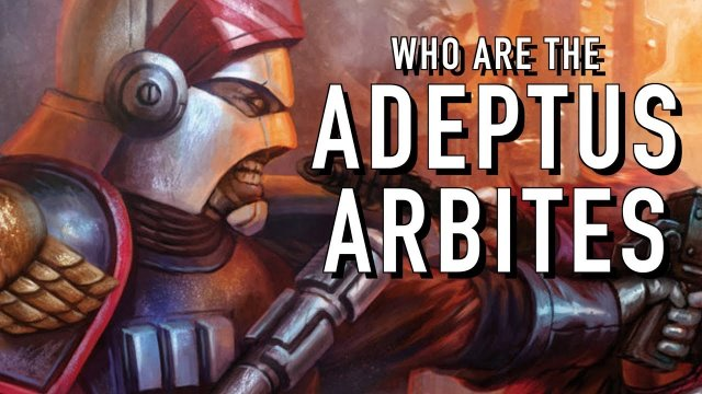 40 Facts and Lore on the Adeptus Arbites Warhammer 40K
