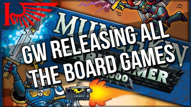 Munchkin... Warhammer 40,000 Edition?! & More GenCon Games Workshop Reveals