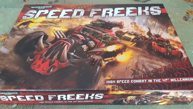 Speed Freeks unboxing; Warhammer 40k box set