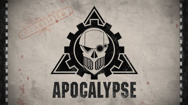 Warhammer 40,000 Apocalypse Announcement