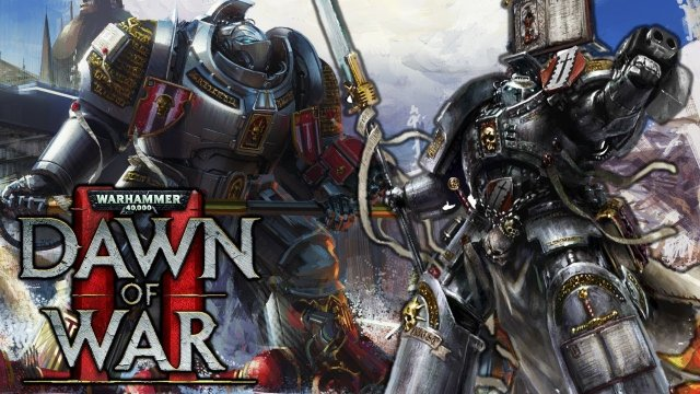 GREY KNIGHTS - Ordo Malleus vs. Chaos Faction War 3v3 - Warhammer 40K Dawn of War 2 Elite
