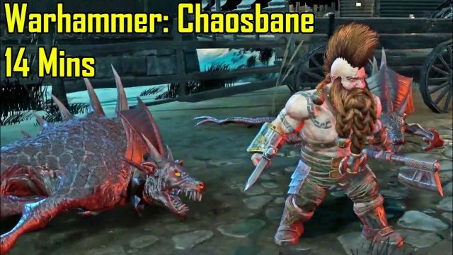 Warhammer Chaosbane - 14 Minutes of Gameplay Demo So Far (Upcoming RPG 2019)