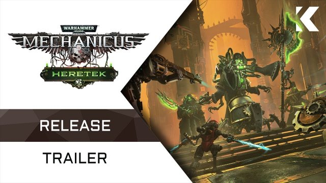 Warhammer 40,000: Mechanicus - Heretek Expansion | Release Trailer