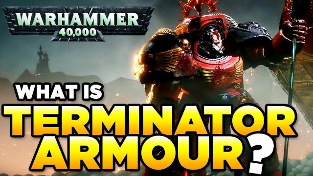 TERMINATORS OF THE IMPERIUM - Tactical Dreadnought Armour | WARHAMMER 40,000 [LoreGear]
