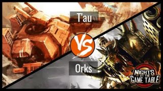 Kingslayer: Farsight T'au Vs. Warbikers Orks Warhammer 40K Battle Report