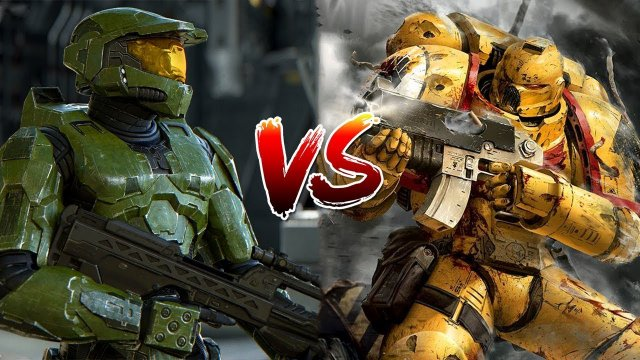 Can the Master Chief beat a Space Marine? | Warhammer 40k vs Halo