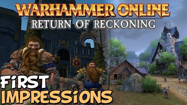"Warhammer Online First Impressions ""Is It Worth Playing?"""