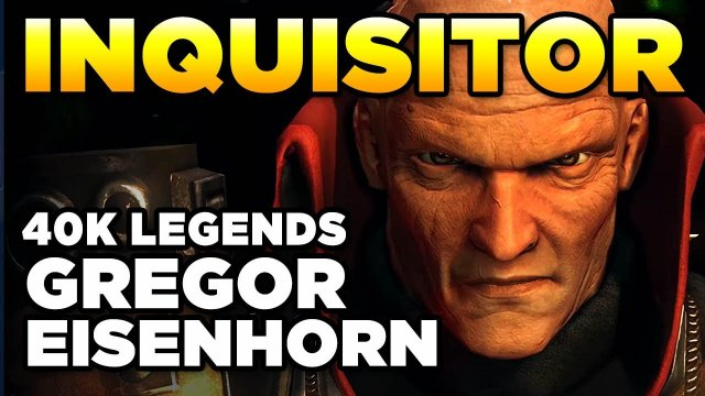 40K LEGENDS - WHO IS GREGOR EISENHORN? | Warhammer 40,000 Lore/History