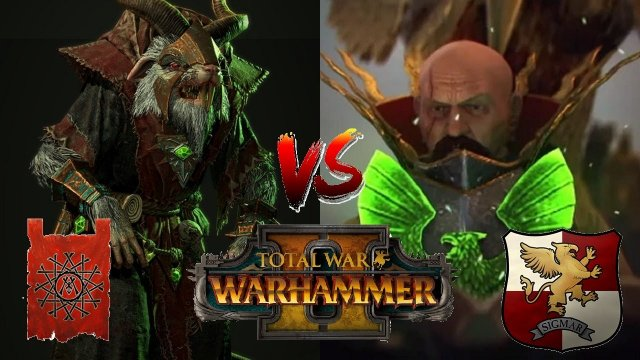 THE LORD WAGON DUEL | Empire vs Skaven - Total War Warhammer 2