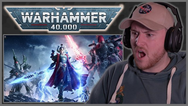 Royal Marine Reacts To Warhammer 40k Every Faction Explained | Part 5 Bricky!